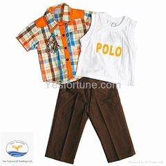 High fashion clothes for boys of 1-17 years old