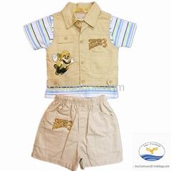 fashion design kids 3pcs clothing