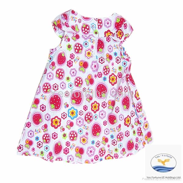 2014 flower girl factory carter's baby girl dress 4