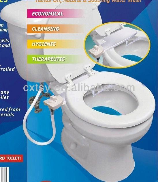 带妇洗器马桶座 3
