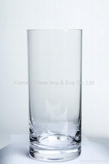 water glass lead free Crystal Glassware Water Cup (H1238)