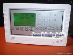 Touch keypad Wireless Burglar Security Alarm RFID LCD GSM Home alarm system
