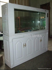 2014 new design European-Style Glass Cabinet Fish Tank