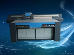 The latest  LED uv flatbed label printer made in china with KONICA 1024