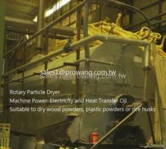 转子式干燥机 (原料烘干机)
