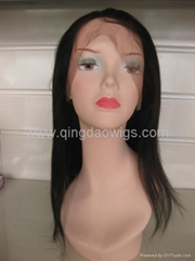 Human hair full lace wigs& lace front wigs in stock