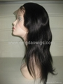 Human hair full lace wigs& lace front wigs in stock 2