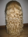 100% human hair full lace wig & lace