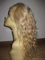 100% human hair full lace wig & lace front wig  2