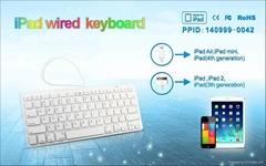 IPAD外接有线键盘