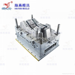 Plastic injection mould for auto console