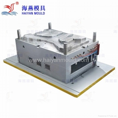 Plastic injection mould for car door panel