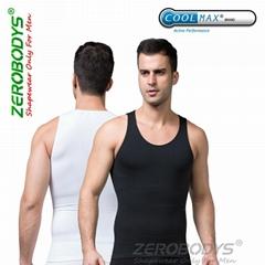 ZEROBODYS Comfortable Mens Body Shaper COOLMAX Active Abdo Plus Shapewear