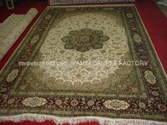 IRANIAN HANDMADE SILK CARPET IN GUANGZHOU-hand persian carpet (Hot Product - 1*)