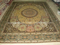 Asian Silk carpet design Handmade (Hot Product - 1*)