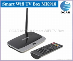 Quad Core android TV box 4.2.2 2GB/8GB Bluetooth TV box android