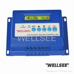 WELLSEE solar controller WS-SC2430 30A three-stage solar charge controller/regul