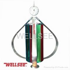 Wellsee brand small wind turbiens 400W vertical wind power generator