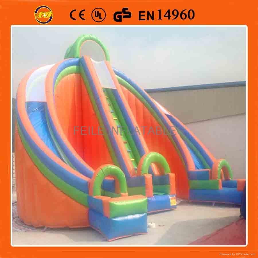 充氣滑梯,充氣大型滑滑梯,儿童滑滑梯 1
