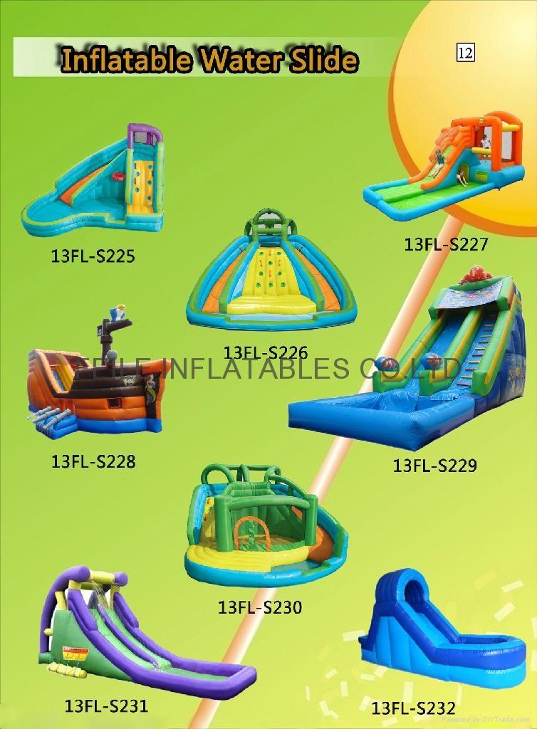 充氣滑梯,充氣大型滑滑梯,儿童滑滑梯 4