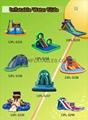 充氣滑梯,充氣大型滑滑梯,儿童滑滑梯 5