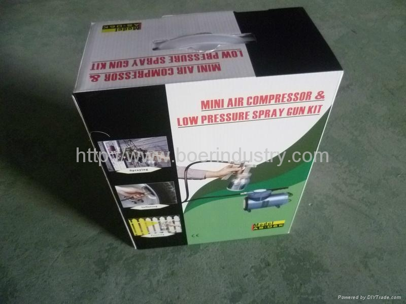 Portbale Air Compressor (AS06K-1) 4