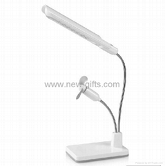 Portable USB Rechargeable Touch Switch Folding Desk Lamp Table Light