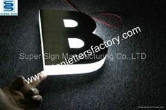 LED sign letters