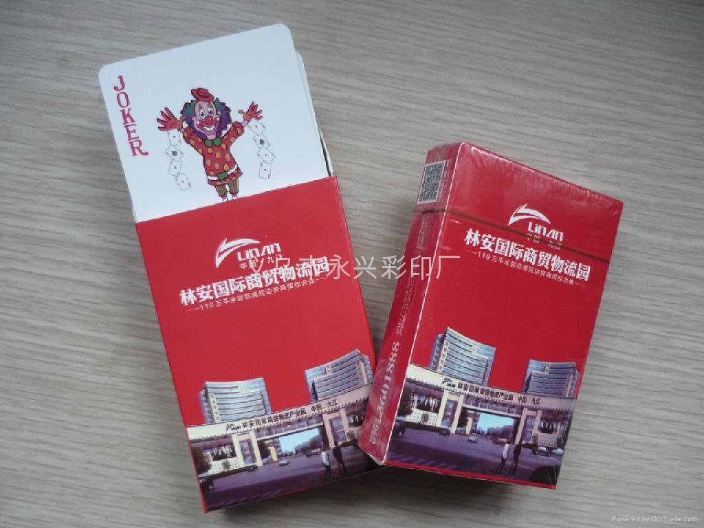 Customized advertising poker card card  1