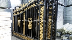 Luxury Wrought Steel Main Gate Design