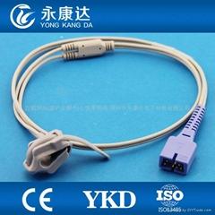 Compatible with DS-100A Neonatel wrap Sp02 sensor
