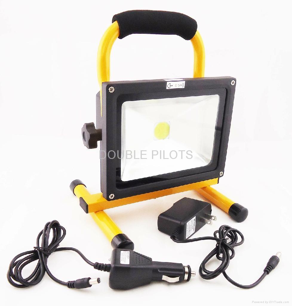 rechargeable work light flood light 20w 1