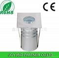 3w mini led square inground light