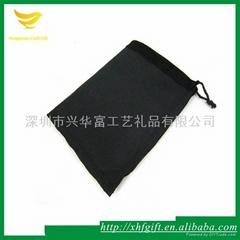 優雅黑色經典飾品袋