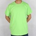 180克空白纯棉圆领T恤 5