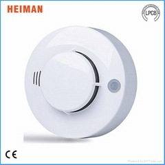 9V Battery Operated Stand Alone Infrared Photoelectric Sensor Smoke Detector