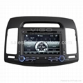 Car Stereo for Hyundai Elantra GPS SatNav Navigation Bluetooth Radio DVD