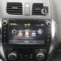 Autoradio for Suzuki SX4 Stereo GPS Navigation SatNav DVD CD Player Bluetooth