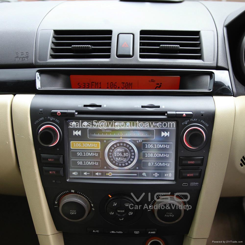 car stereo for mazda3 mazda 3 gps sat nav navigation dvd headunit multimedia vmz7123 vigo. Black Bedroom Furniture Sets. Home Design Ideas