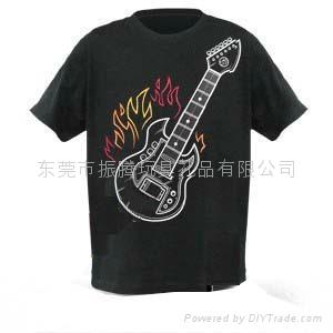 架子鼓T恤 2