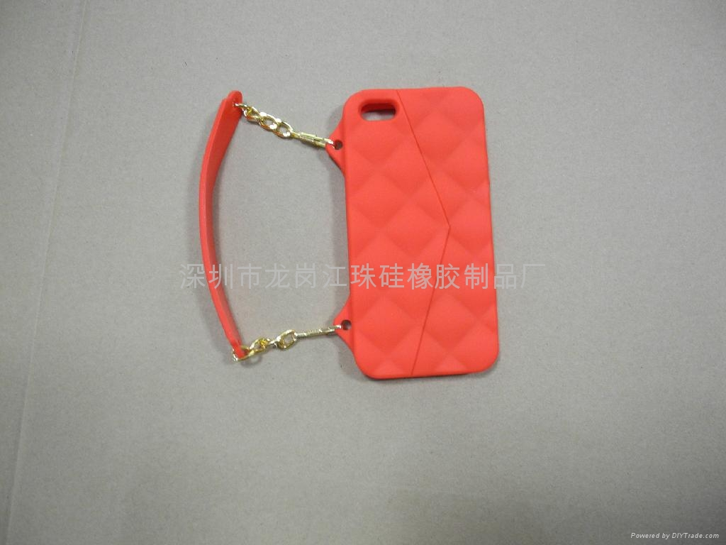 iphone 5/5s硅胶套 4