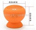 硅胶蓝牙吸盘音箱 CSR3.0