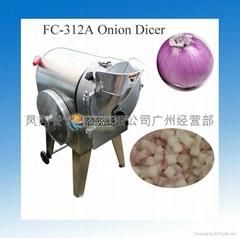 台湾进口洋葱切粒切丁机