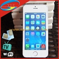 Quadband Apple iPhone 5S Copy Cheap Mobile Phone with TV Wifi