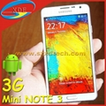 5 Inch Samsung Note 3 Mini SM-N7505 Replica Android 4.4 Smart Phone 3G Phone