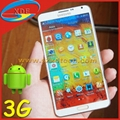 Quadcore 5.7 Inch Samsung Galaxy Note 3 Copy Android 4.3 Golden Color Avaliable