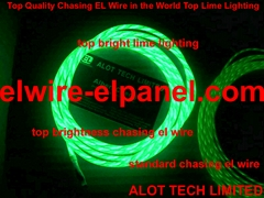 EL Wire Chasing TOP Bright in the World TOP Quality (Hot Product - 2*)