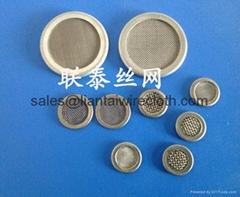 multilayer circular screen pack