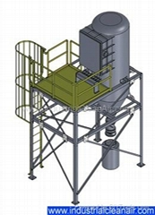 High Vacuum Dust Collector
