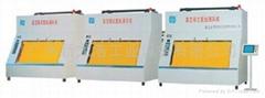 Vacuum chamber helium leak detection machine